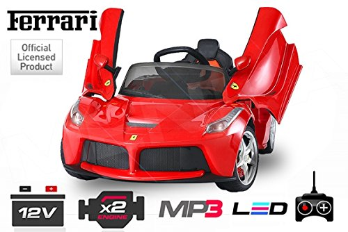 ferrari laferrari elektro kinderauto kinderfahrzeug. Black Bedroom Furniture Sets. Home Design Ideas
