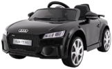 BSD Elektro Kinderauto Elektrisch Ride On Kinderfahrzeug Elektroauto Fernbedienung - AUDI Quatro TT RS 2.4 GHz - Schwarz - 1