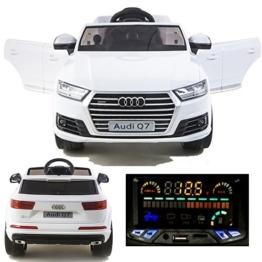 Audi Q7 Elektrokinderauto weiß