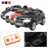 Audi Q7 Elektrokinderauto schwarz