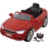 BMW Elektrokinderauto 3er rot