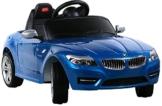 BMW Z4 Elektrokinderauto Roadster blau