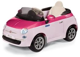 Fiat 500 Elektrokinderauto pink rosa