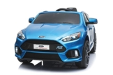 Ford Focus RS Elektrokinderauto Kinderfahrzeug blau