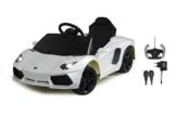 Lamborghini Aventador Elektrokinderauto weiß