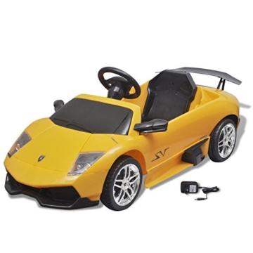 Lamborghini Murcielago Elektrokinderauto gelb