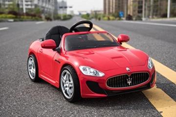 Maserati Gran Turismo Elektrokinderauto 12V rot