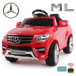 Mercedes-Benz ML350 Elektrokinderauto rot 6V