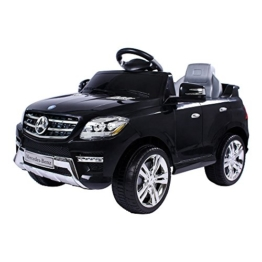Mercedes-Benz ML Elektrokinderauto schwarz