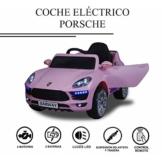 Porsche Elektrokinderauto rosa