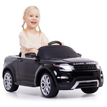 Range Rover Elektrokinderauto schwarz