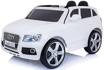 audi q5 elektrokinderauto weiss elektrokinderauto. Black Bedroom Furniture Sets. Home Design Ideas
