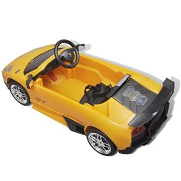 Kinderfahrzeuge vidaXL Elektroauto Lamborghini Murcielago 6V Gelb Kinderfahrzeug Kinderauto#
