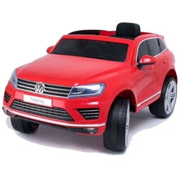 VW Touareg Elektrokinderauto rot