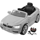 BMW Cabriolet Kinder Elektroauto weiß