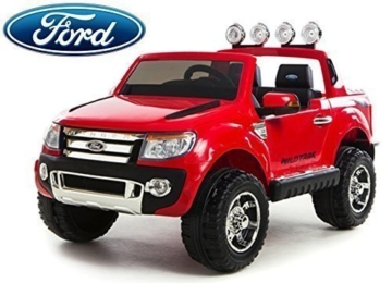 ford ranger wildtrak kinder elektroauto rot. Black Bedroom Furniture Sets. Home Design Ideas