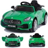 Mercedes-Benz GTR Elektrokinderauto grün