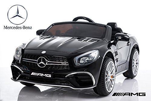 mercedes sl65 elektro kinder elektroauto elektrokinderauto. Black Bedroom Furniture Sets. Home Design Ideas