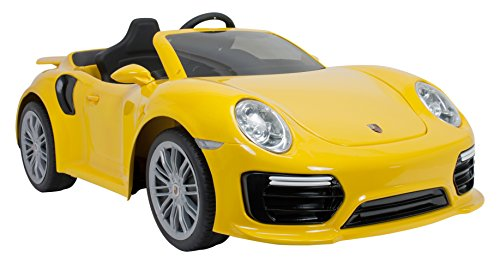 porsche 911 turbo s kinder elektroauto mit fernbedienung. Black Bedroom Furniture Sets. Home Design Ideas