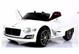 Bentley Elektro Kinderauto weiß
