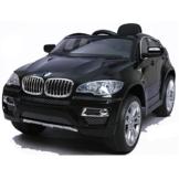 BMW X6 Elektro Kinderauto schwarz