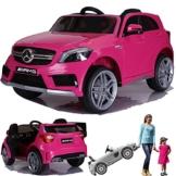 Mercedes-Benz A45 Kinder Elektro Auto pink