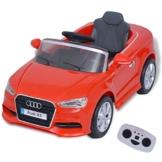 Audi A3 Kinder Elektroauto 6V rot