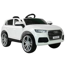Audi Q5 Kinder Elektroauto weiß