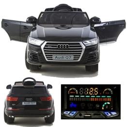 Audi Q7 Kinder Elektroauto 12V schwarz