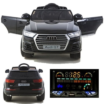 audi q7 elektro kinderauto kinder elektroauto 12v. Black Bedroom Furniture Sets. Home Design Ideas