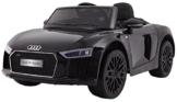 Audi R8 Kinder Elektroauto schwarz