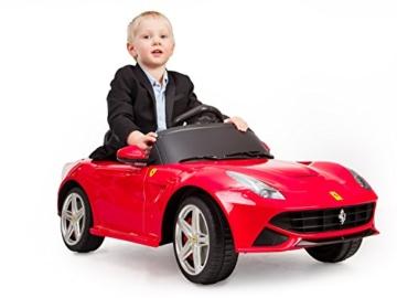 Ferrari Berlinetta F12 Kinder Elektroauto rot