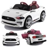 Ford GT Raptor Cabrio Kinder Elektroauto weiß
