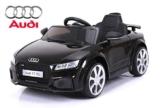 Kinder Elektroauto Audi TT RS schwarz