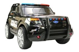 Polizeiauto Kinder Elektroauto Police