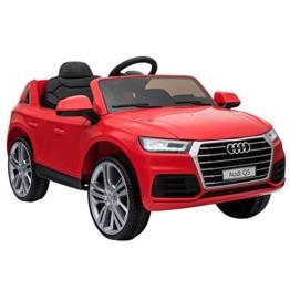 Audi Q5 Kinder Elektroauto rot