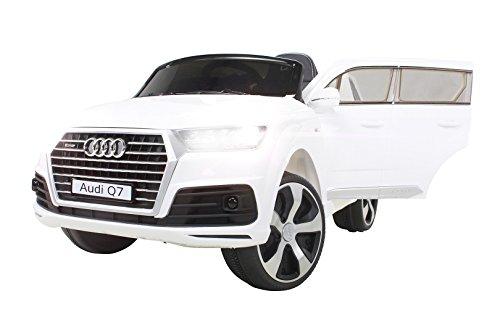 Audi Q7 Kinder Elektroauto 12v 2x45w Motoren Premium Elektrokinderauto