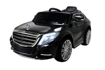 Kinder Elektroauto Mercedes S600 schwarz