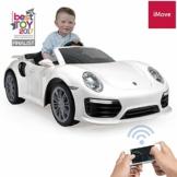 Kinder Elektroauto Porsche 911 weiß