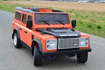 Kinder Elektroauto Land Rover