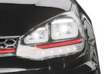Kinder Elektroauto VW Golf GTI schwarz