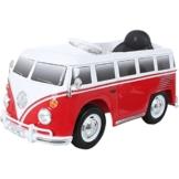 Kinder Elektrofahrzeug VW T1 Bus rot/weiß