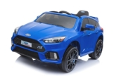 Kinder Elektroauto Ford Focus RS blau