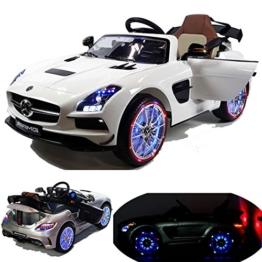 Mercedes S Klasse Kinder Elektroauto weiß