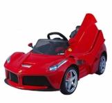 Kinder Elektroauto Ferrari LaFerrari rot