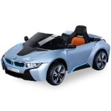 Kinder Elektroauto BMW i8 hellblaumetallic