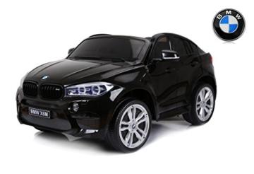 Kinder Elektroauto BMW X6 M 2sitzer schwarz