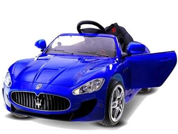 Kinder Elektroauto Maserati GT  2x 45W Motor -