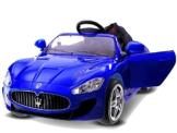 Kinder Elektroauto Maserati GT blau