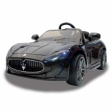 Kinder Elektroauto Maserati GT Gran Turismo schwarz